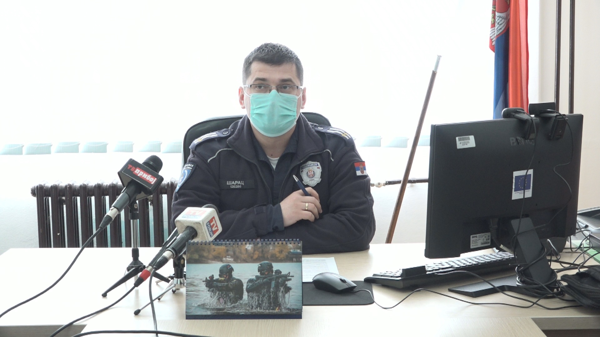 ПУ Пријепоље – Представљени услови за пријем 37 полазника основне полицијске обуке