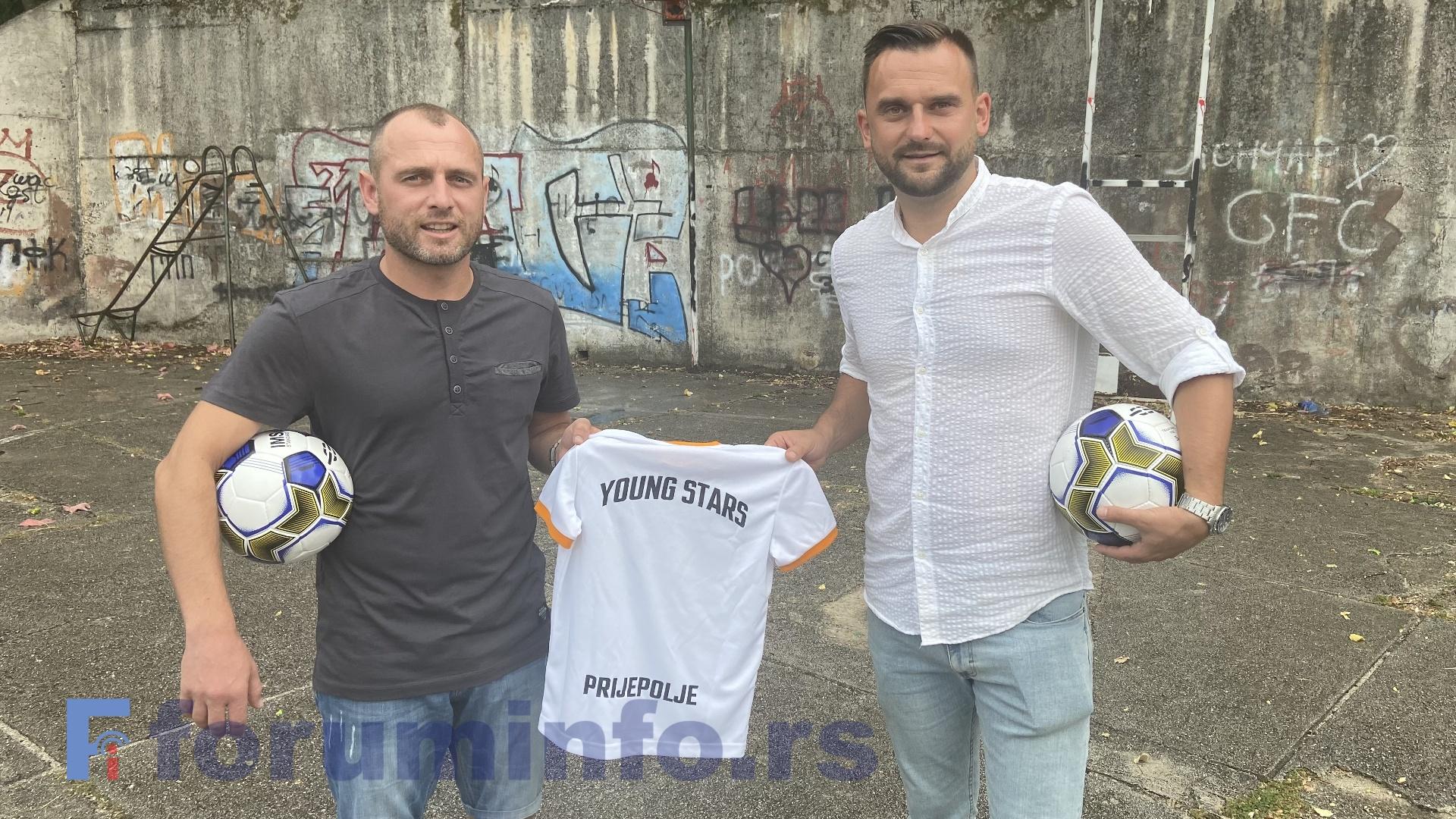 """Нова звезда на фудбалској сцени Пријепоља – почиње са радом школа фудбала """"Јанг Старс"""""""