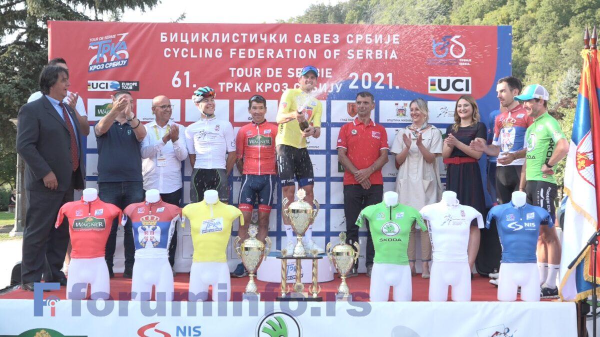 """Француз Жан Губе победник 61. бициклистичке трке """"Кроз Србију"""""""