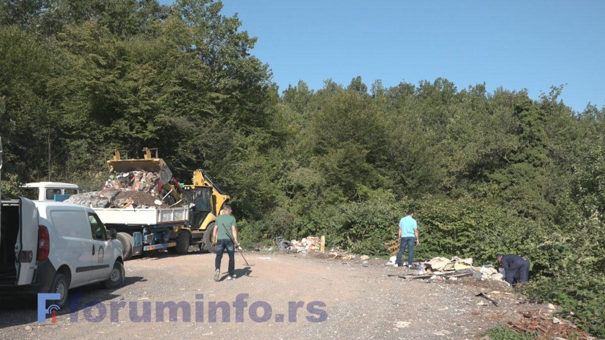 """ЈКП """"Лим"""" уклања дивље депоније – прву код Беговог моста"""