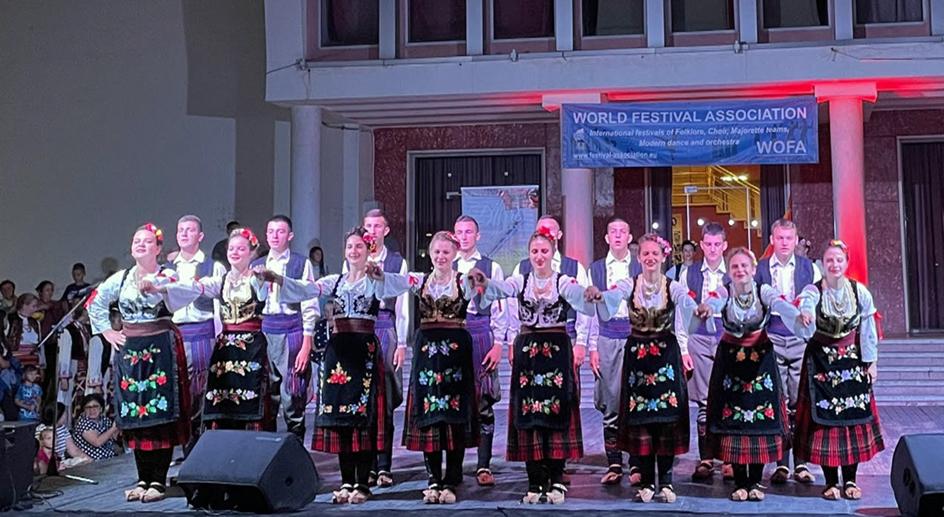 Фолклорни ансамбл Дома културе Пријепоље наступио на фестивалу у Албанији