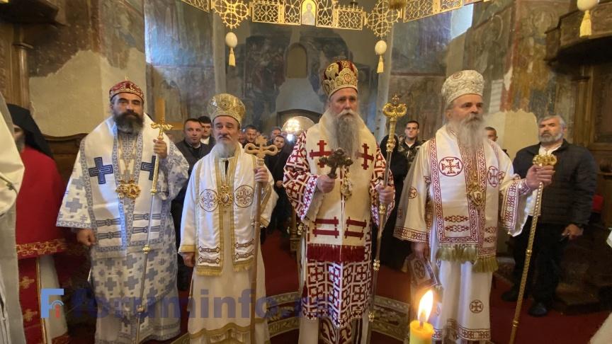 Прослављена епархијска и ктиторска слава манастира Милешева Свети краљ Владислав